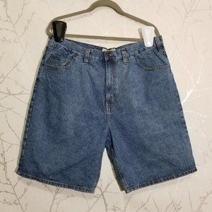 Big Mac Workwear Medium Wash Denim Shorts